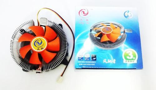 fan cooler universal intel lga 775/1155/1156 amd + pasta t 8