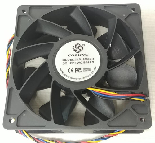 fan cooler ventilador antminer s9 t9  6000 rpm- chacao 20ver