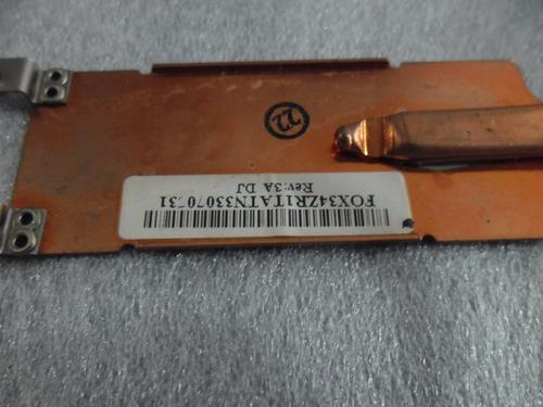 fan cooler y disipador para notebook acer aspire 3680