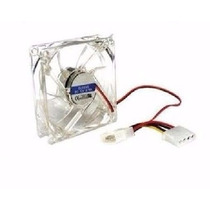 Fan Cooler 8x8cm Computadora Pc 4pines Luces Hxs 12v Interno