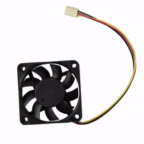 Fan Cooler 7x7cm 3pines Computadora Pc Hxs 12v Dc Interno
