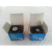 Jgo 2 Kit Cpu Cooling Fan Cyber Evercool 3 Y 0,96 Watt 12vdc