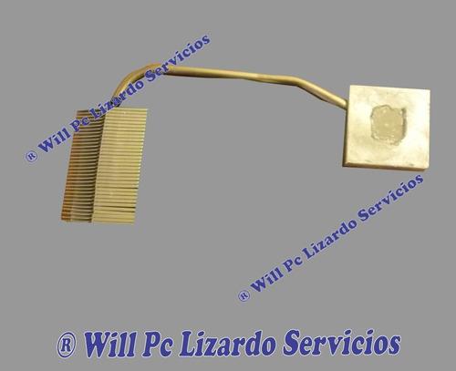 fan heatsink (disipador de calor) toshiba 2400-s201 (intel)