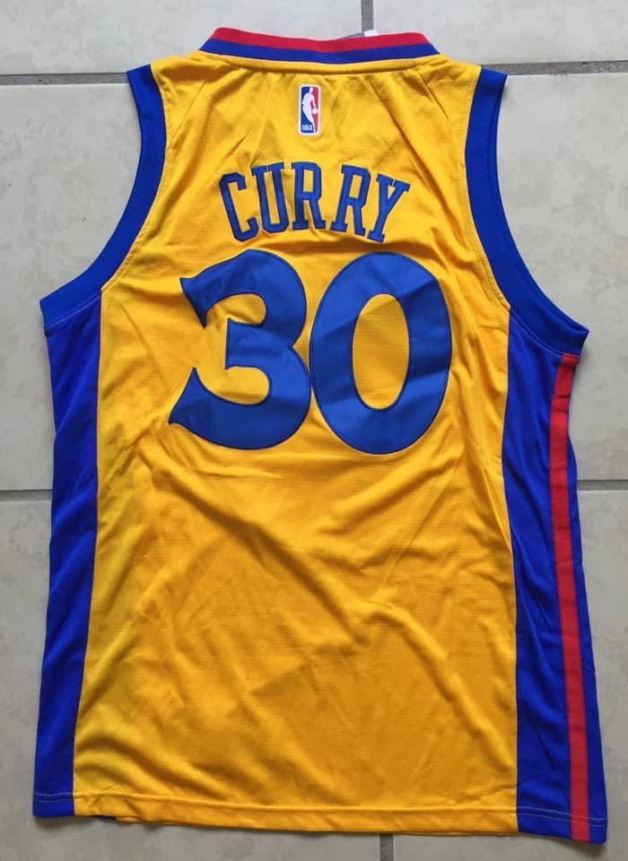 the latest 24dc2 2bc90 Fan Jersey Stephen Curry #30 Golden State The Bay City