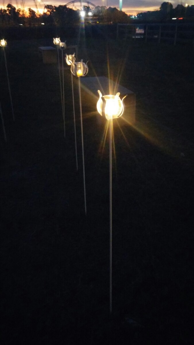 fanal pinche porta velas para jardin