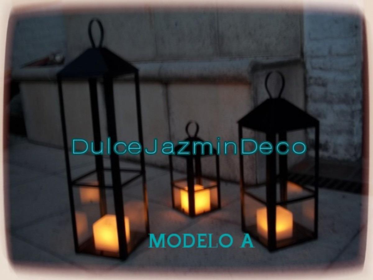 fanales velas decoracion