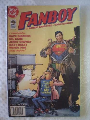 fanboy - nº 1! editora brain store abril 2002