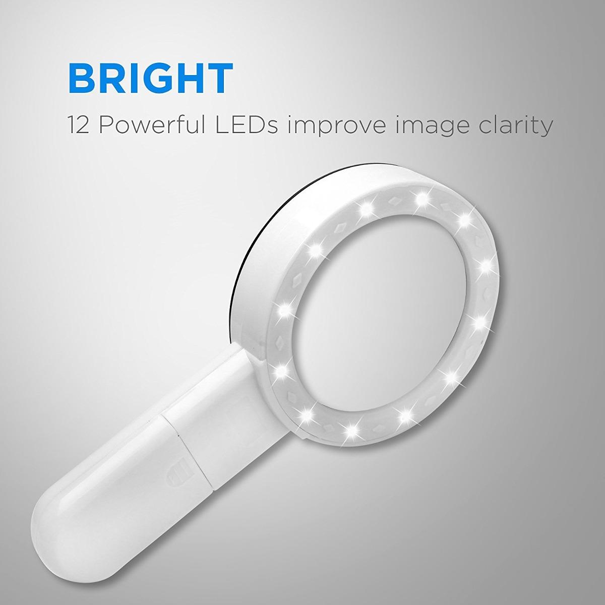 95dde66416 fancii led lupa con luz, 5x de alta potencia de la lente de. Cargando zoom.