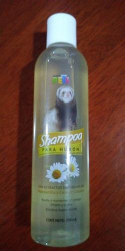 fancy pets shampoo huron 250 ml pelo suave sedoso brillante