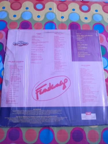 fandango lp autos, moda y rock & roll 1988, disco poster.