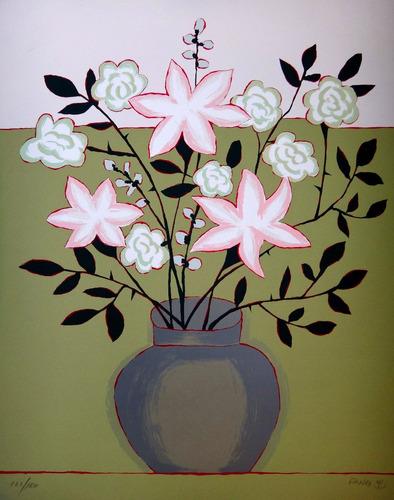 fang - vaso de flores - serigrafia enorme - melhor fase!!