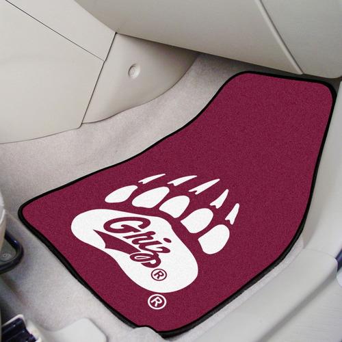 fanmats montana 2-pc impreso alfombra coche mats 18 -inch-in