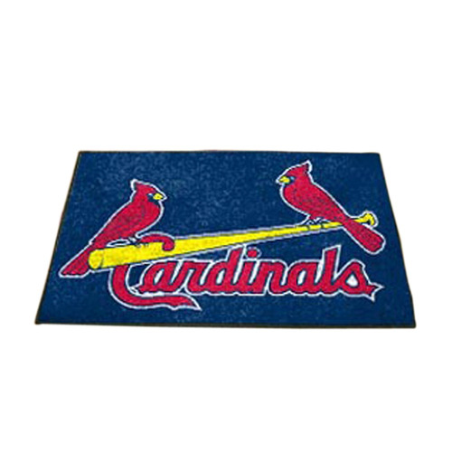 fanmats st louis cardenales all-star alfombras 34 -inchx45-i