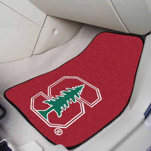 fanmats stanford 2 piezas enmoquetado coche mats 18 -inch-in