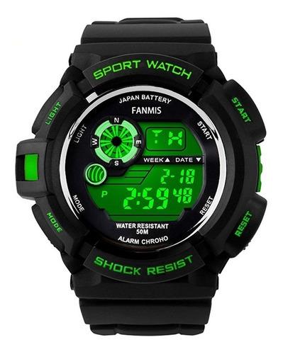 fanmis s-shock multifunción digital de cuarzo reloj