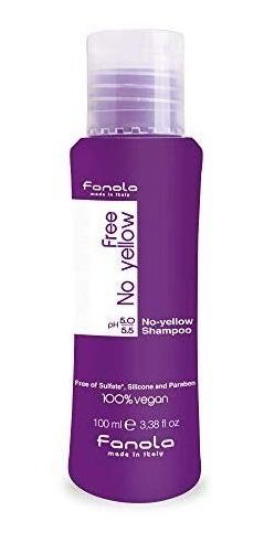 fanola no orange no yellow shampoo y mascarilla tienda
