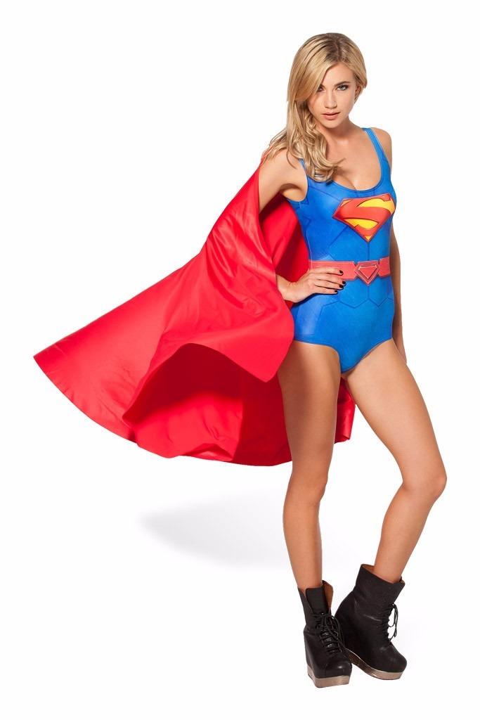 c95b9475de1a88 Fantasia Adulta Super Homem Mulher Feminina Frete Grátis!!!