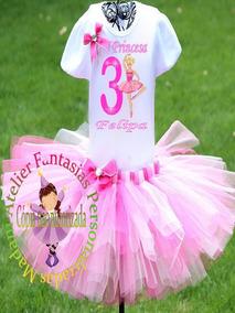 e51d864327 Fantasia Infantil Barbie Bailarina no Mercado Livre Brasil