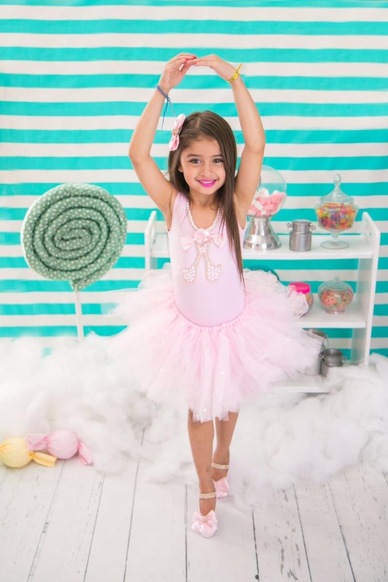 a4b0cb63a1 Fantasia Bailarina Completa Com Collant E Saia Tutu - R  224