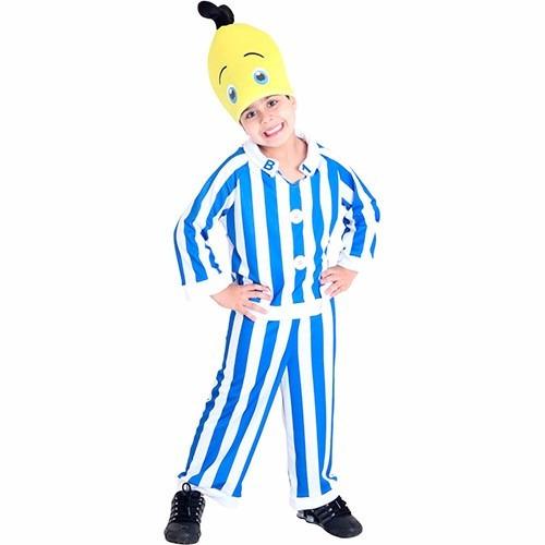 fantasia banana de pijama b1 p (3 a 4 anos)