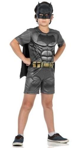 fantasia batman original com musculatura tam.g sulamericana
