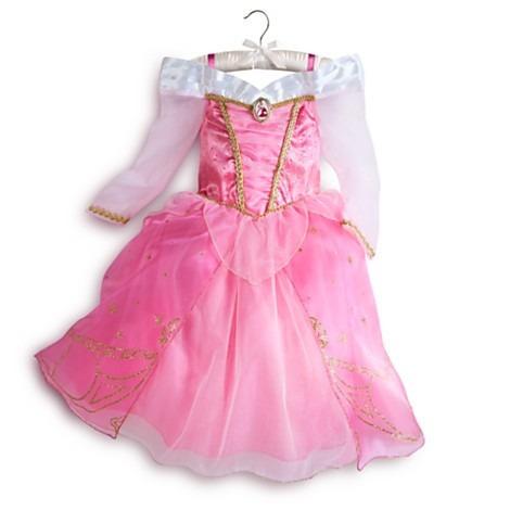 Fantasia bela adormecida disney vestido aurora 6 7 8 anos r 289 99 em mercado livre - Deguisement princesse aurore ...