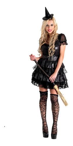 fantasia bruxa black heat girls