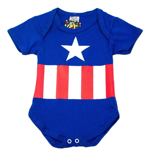 fantasia capitão américa para bebês
