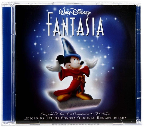 fantasia - cd duplo - trilha sonora original - disney