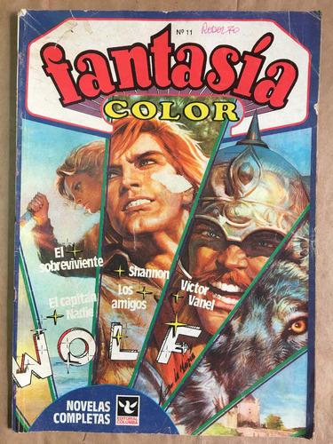 fantasía color 11, historieta, ed columba, c35