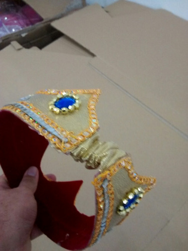 fantasia coroa rei luxo linda