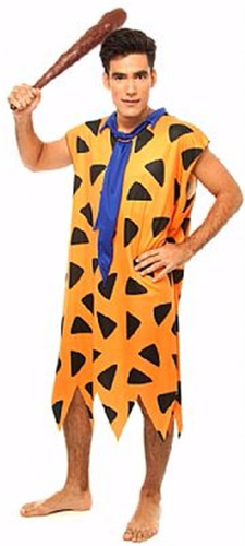 fantasia cosplay fred flintstones adulto masculino