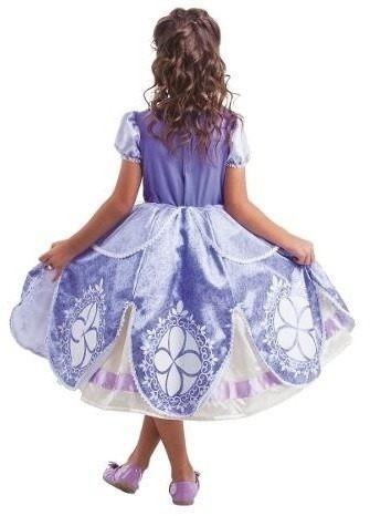 Fantasia Da Princesa Sofia Luxo Original Disney M 5 A 6 Anos