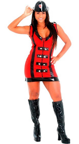 66c0825e30155b Fantasia De Bombeira Adulto Heat Girls Luxo