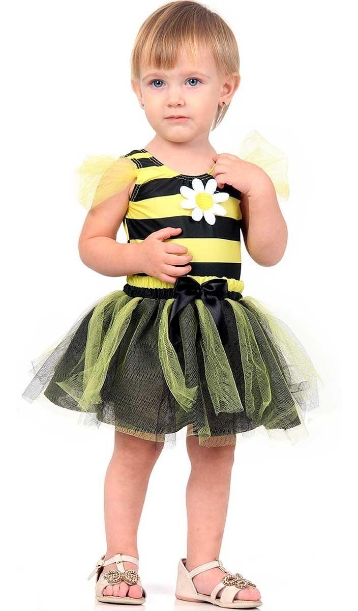 6c949a7bfcc0ec Fantasia De Carnaval Para Bebe Menina 1 Ano Abelhinha