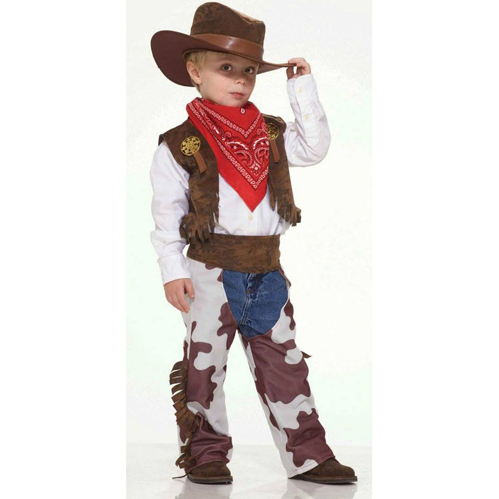 fantasia de cowboy infantil completa c  chapéu. Carregando zoom. 35ca933633b
