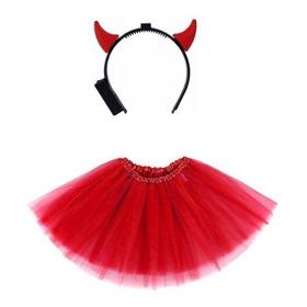 Fantasia De Diabinha Vermelha Carnaval