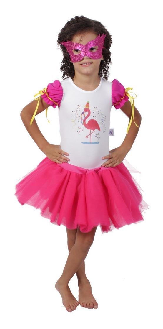 Fantasia De Flamingo Carnaval Quimera Kids R 124 86 Em Mercado Livre