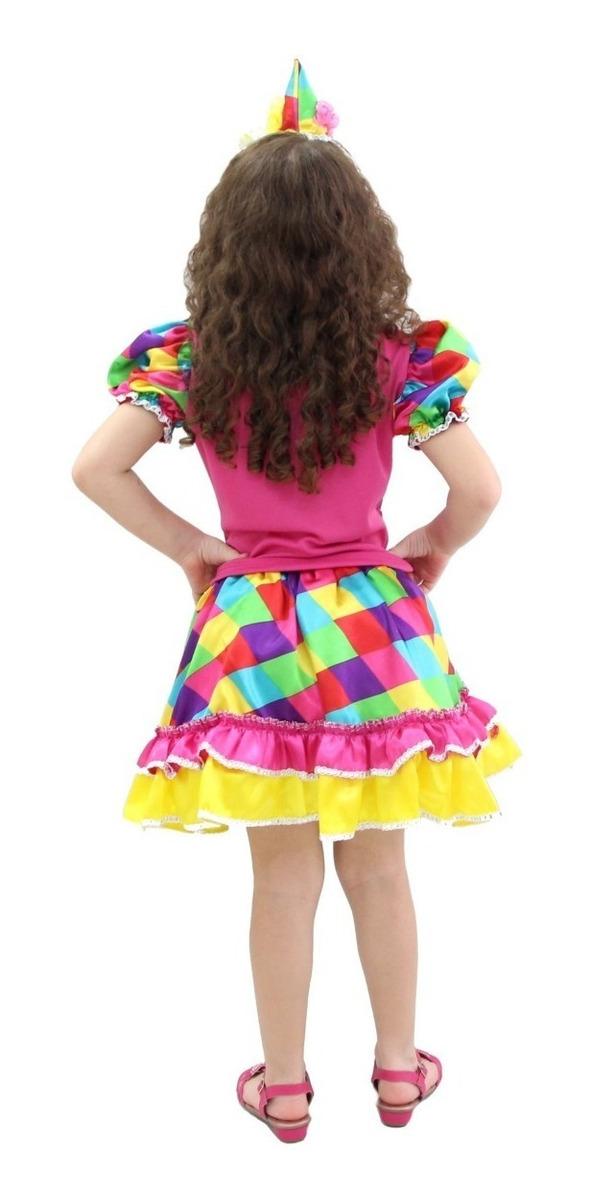 8450bcdb68 fantasia de palhacinha festa circo palhaça feminina infantil. Carregando  zoom.