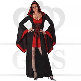 6aaf20f408b920 Fantasia De Vampira Vestido Adulto Halloween Dia Das Bruxas