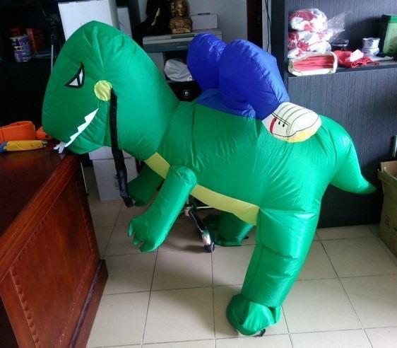 Fantasia Dinossauro Cosplay Inflavel Festa Engracada Yoshi R 185