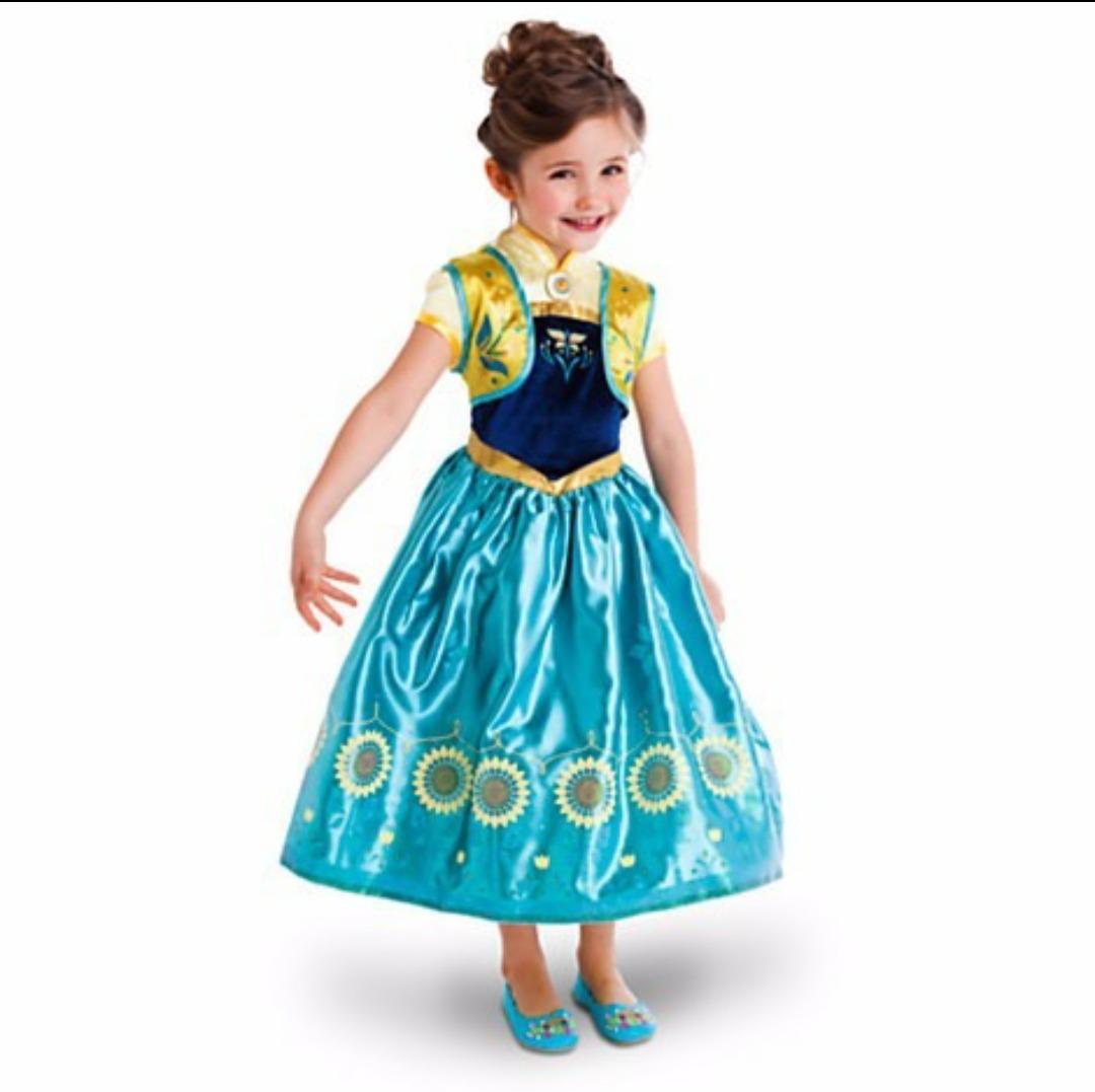 Fantasia Disney Store Anna Frozen Fever Flor Anna Brinde R 70