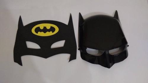 fantasia do batman c/ mascara de plastico + 1 de eva brinde