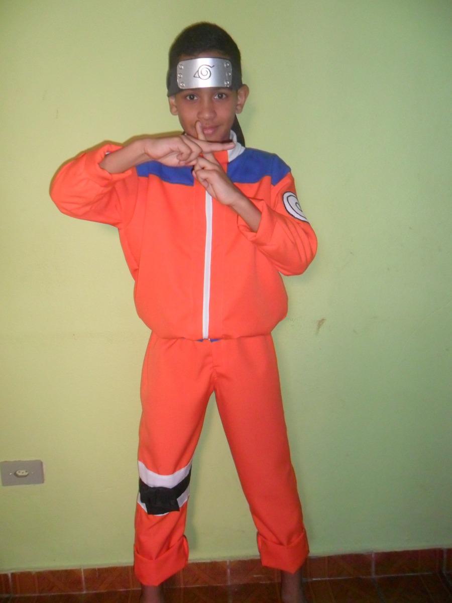 Fantasia Do Naruto Infantil R 100 00 Em Mercado Livre