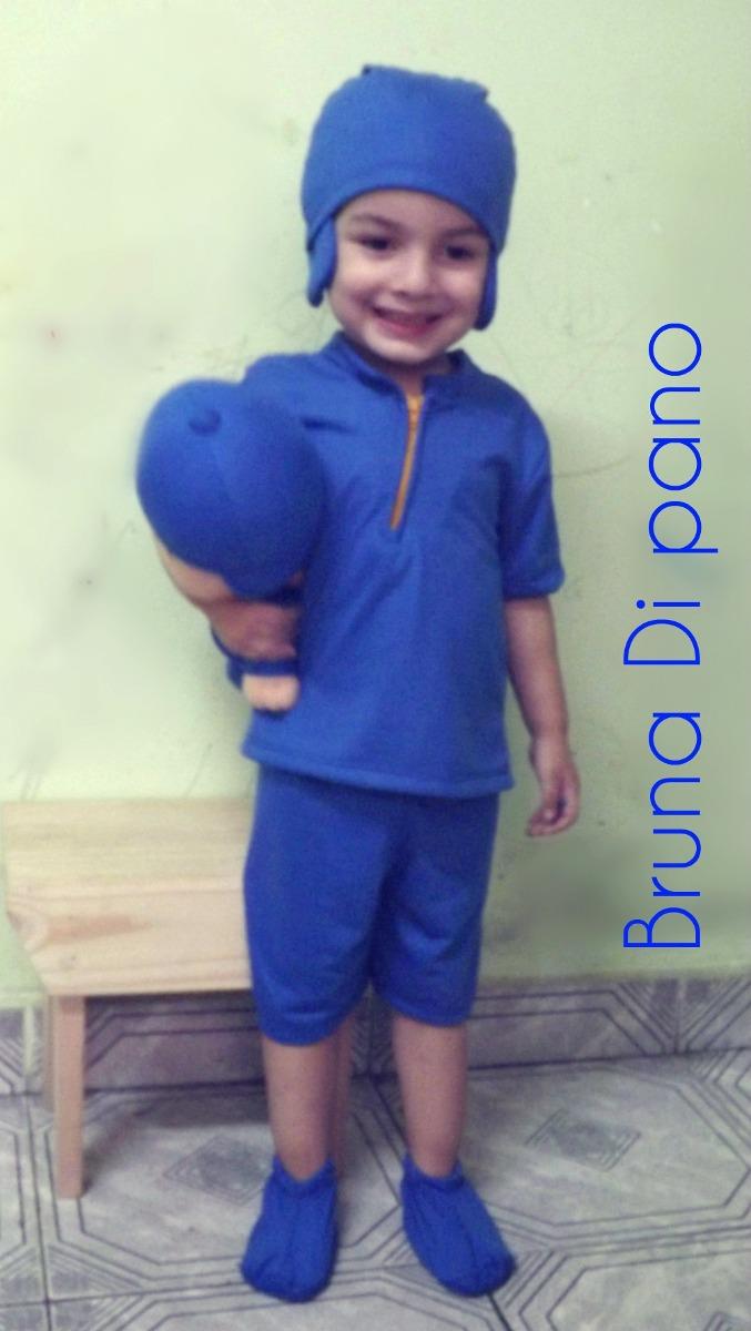 Fantasia Do Pocoyo Infantil Roupa Do Pocoyo R  89 99 em Mercado Livre c1cde831286