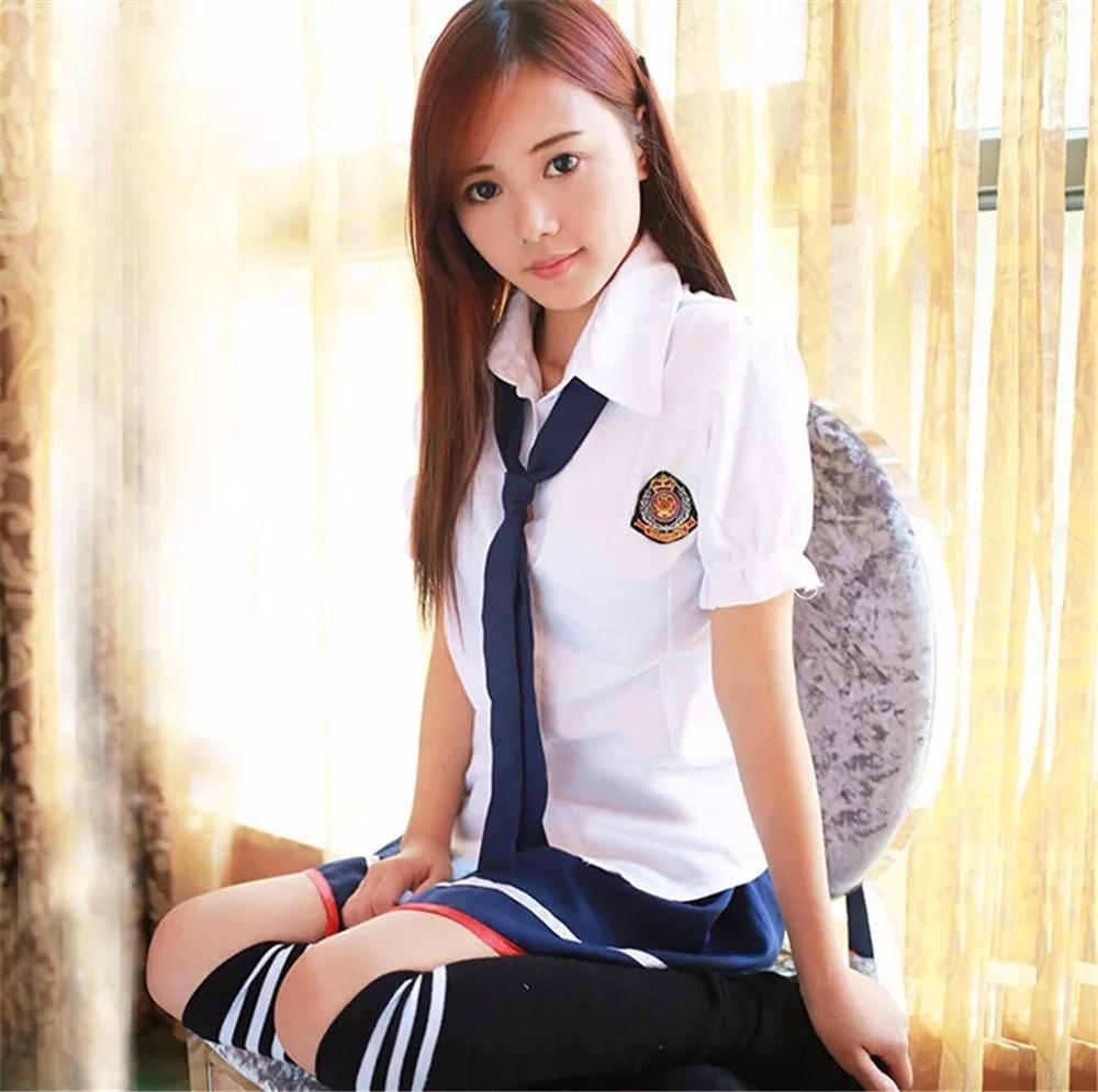 Fantasia Feminina Colegial Japonesa Cosplay - Pronta -6908