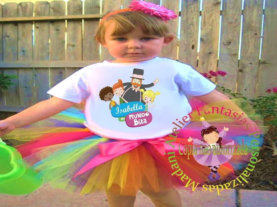 Fantasia Festa Aniversário Infantil Mundo De Bita R 9500 Em