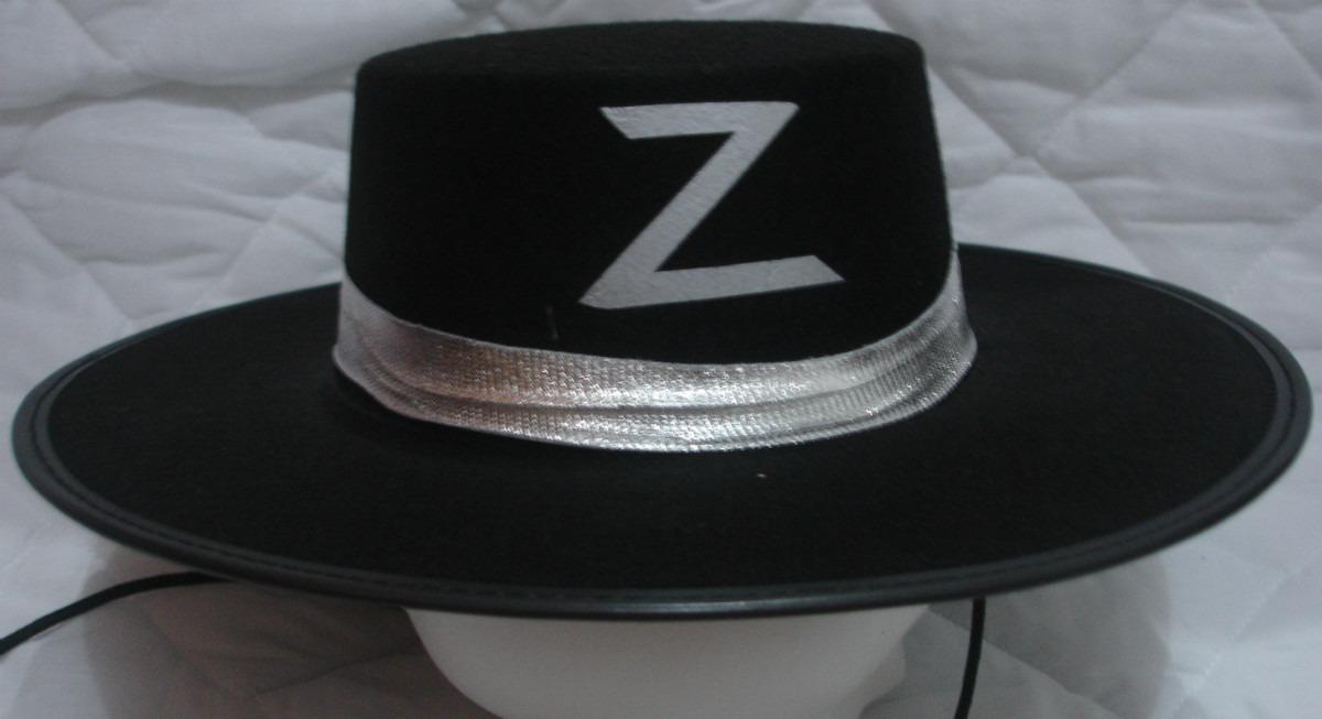 Fantasia Festas Chapéu Zorro Luxo !!! Promoção Carnaval - R  14 83a11b16c1f