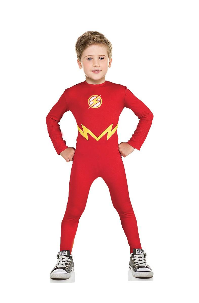 Fantasia Flash 1a 8 Anos Liga Da Justiça Dia Das Crianças R 69