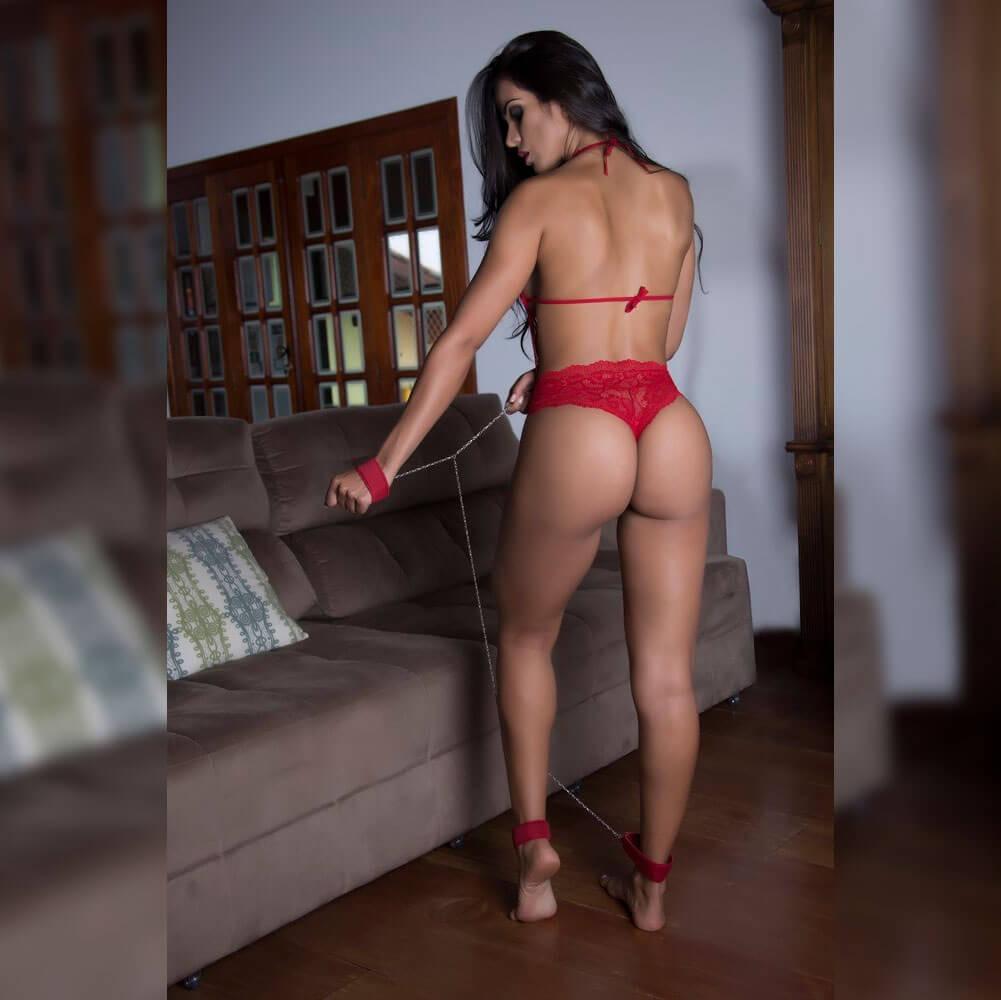 010d23f69 Fantasia Garota Veneno - Prisioneira Sexy